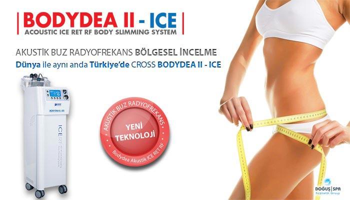CROSS BODYDEA II ICE - YENİ NESİL AKUSTİK RF BUZ BAŞLIK BÖLGESEL İNCELME